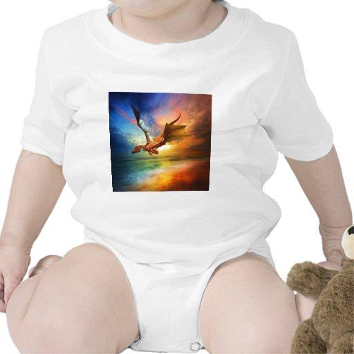 El año del dragón traje de bebé