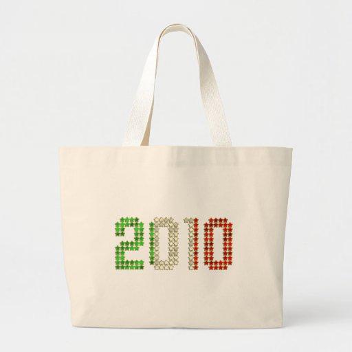 El Año Nuevo 2010 y los deportes italianos de la b Bolsas Lienzo