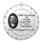 El antepasado de cada acción es un pensamiento (Em Tabla Dardos