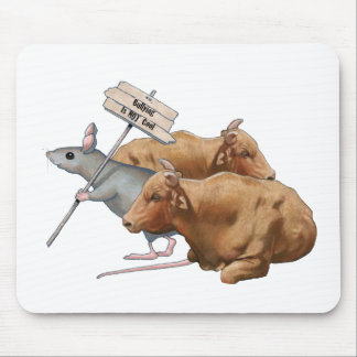 El Anti-Tiranizar: Toros, ratón: Tiranizar no fres Alfombrilla De Ratones
