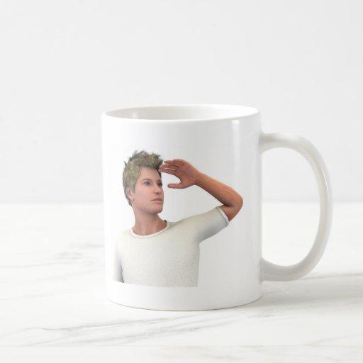 El anticipar taza básica blanca
