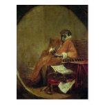 El anticuario del mono, 1740 tarjetas postales