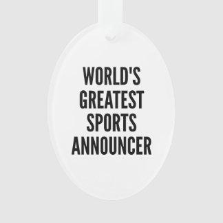 El anunciador de deportes más grande de los mundos