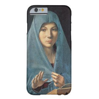 El anuncio, 1474-75 (aceite en el panel) funda barely there iPhone 6