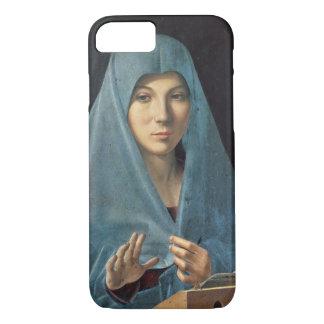 El anuncio, 1474-75 (aceite en el panel) funda iPhone 7