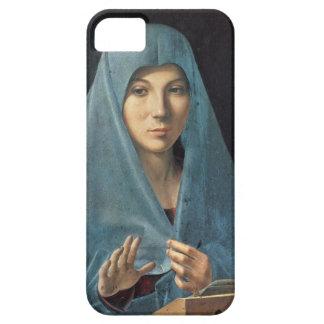 El anuncio, 1474-75 (aceite en el panel) funda para iPhone SE/5/5s