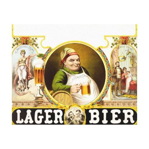 El anuncio 1879 del vintage de la féretro de la ce lienzo envuelto para galerias