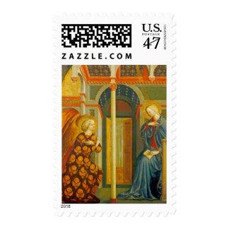 El anuncio, C. 1423-24 Estampillas