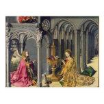 El anuncio, c.1445 tarjetas postales