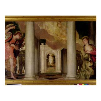 El anuncio, c.1551-53 (aceite en lona) tarjetas postales