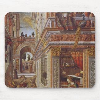 El anuncio con St. Emidius, 1486 Mousepads