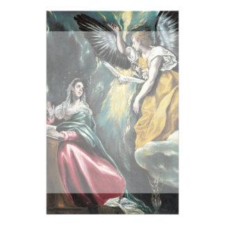 """El anuncio de El Greco Folleto 5.5"""" X 8.5"""""""