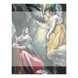 """El anuncio de El Greco Folleto 8.5"""" X 11"""""""
