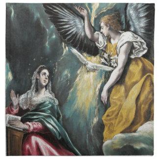El anuncio de El Greco Servilletas Imprimidas