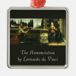 El anuncio de Leonardo da Vinci Ornamento Para Arbol De Navidad