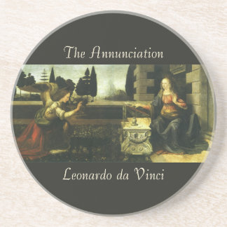 El anuncio de Leonardo da Vinci Posavasos Para Bebidas