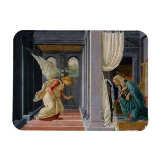 El anuncio de Sandro Botticelli Iman Rectangular