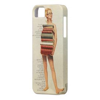 El anuncio del panty del vintage reserva el caso funda para iPhone SE/5/5s