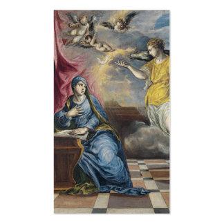 El anuncio - El Greco Tarjetas De Visita