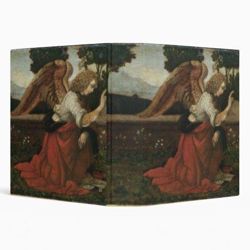 El anuncio, el panel de la predela de un altarpiec