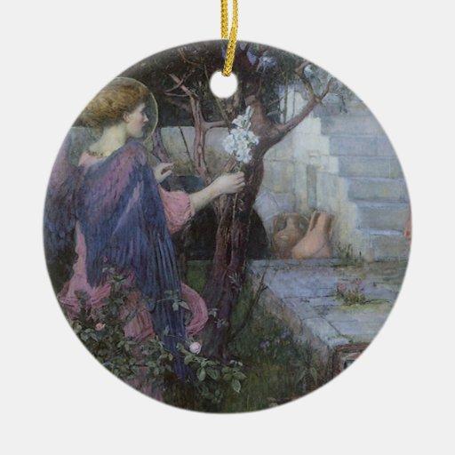El anuncio por el Waterhouse de JW, arte del Ornamento De Navidad