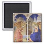 El anuncio por Fra Angelico Imán