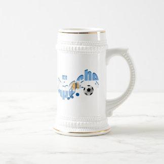 El Apache Argentina Fútbol lovers fans gifts Beer Stein