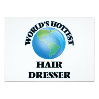 El aparador más caliente del pelo del mundo invitación 12,7 x 17,8 cm