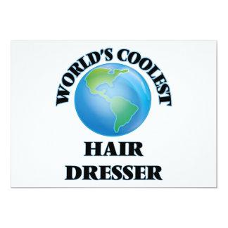 El aparador más fresco del pelo del mundo invitación 12,7 x 17,8 cm