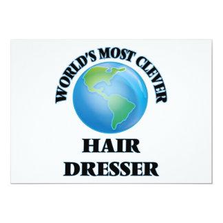 El aparador más listo del pelo del mundo invitación 12,7 x 17,8 cm