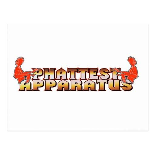 EL APARATO MÁS PHATTEST 9 POSTALES