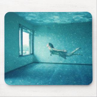 El apartamento subacuático alfombrillas de ratones