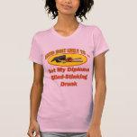 El apestar bebido camiseta