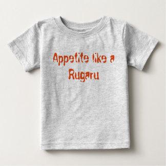 El apetito tiene gusto de un Rugaru Playera