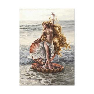 El Aphrodite de la diosa estiró la impresión de la Impresión En Lienzo Estirada
