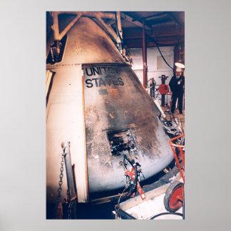 El Apolo 1 quema la cápsula Impresiones