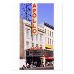 El Apolo en Harlem los E.E.U.U. Tarjeta Postal