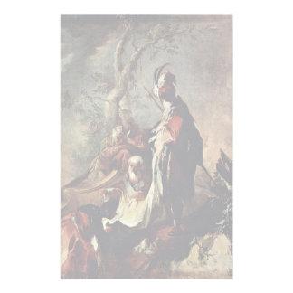 El apóstol Philip bautizó a un eunuco Papeleria