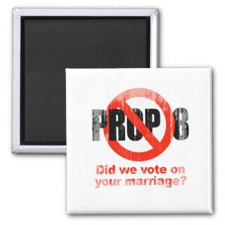 El APOYO ANTI 8 - hicimos votamos sobre su boda Fa Imán Cuadrado