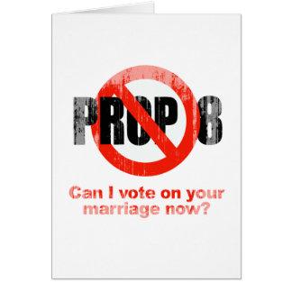 El APOYO ANTI 8 - puede el voto de I en su boda Fa Tarjetas