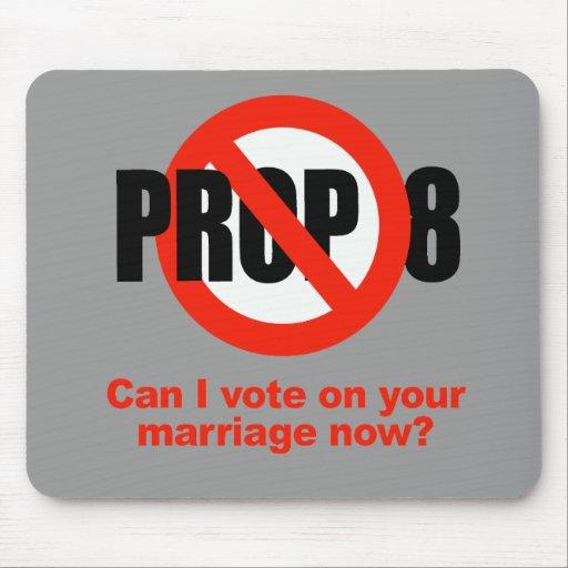 El APOYO ANTI 8 - puede el voto de I en su boda Alfombrilla De Raton