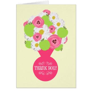 El aprecio del profesor le agradece cardar tarjeta