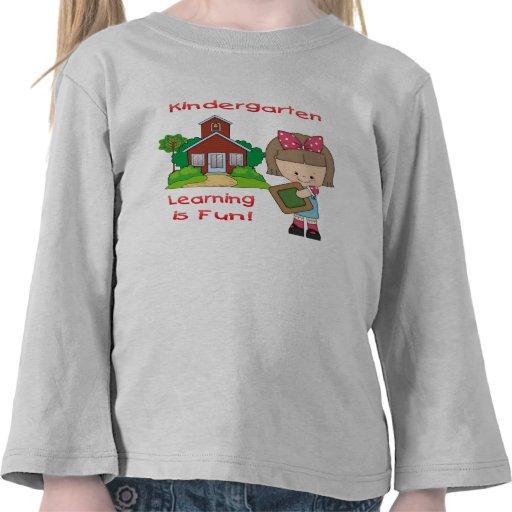 El aprendizaje del chica de la guardería es divers camisetas