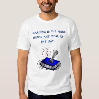 El aprendizaje es el más importante… playera