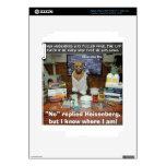 El apresurar de Heisenberg del perro del conocimie iPad 3 Skins