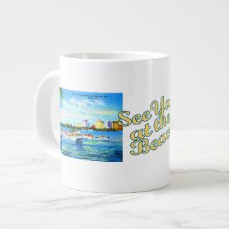 El Aquaplaning en la bahía de Biscayne - vea Ya en Taza Grande
