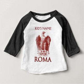 El Aquila romano Playera De Bebé