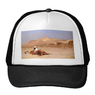 El árabe y su corcel gorro
