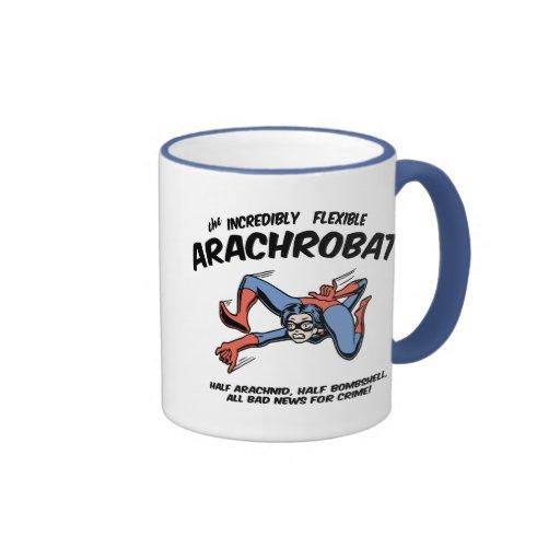 ¡El Arachrobat! Taza A Dos Colores