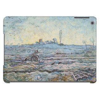 El arado y la grada de Vincent van Gogh Funda Para iPad Air